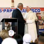 Papa Francisco y Padre Domingo